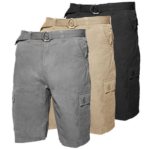 3 Pack Cargo Shorts
