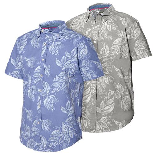 'Tropical Print Shirts'