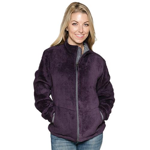 'Micro Chenille Jacket - Nightshade'