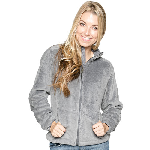 Micro Chenille Jacket - Nickel