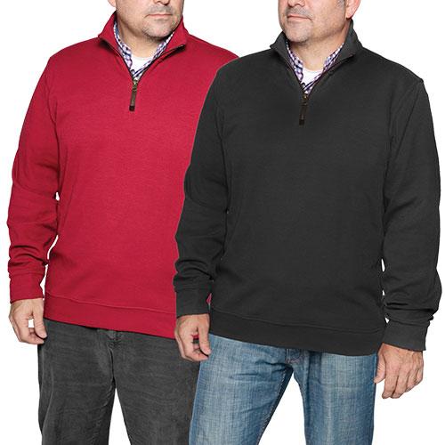Zip Sweaters - 2 Pack
