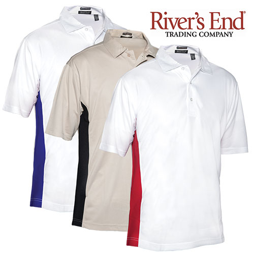 Rivers End Two-Toned Polo Shirts