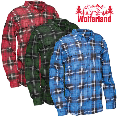 Brawny Flannel Shirts