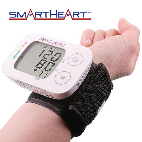 SmartHeart Wrist Blood Pressure Monitor