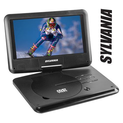 Sylvania 9 inch Portable DVD Player