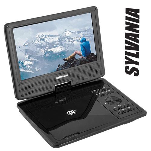 'Sylvania Swivel Port DVD Player'