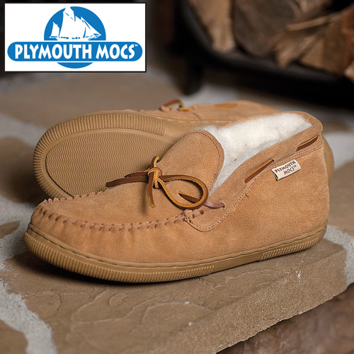 'Plymouth Mocs Mens Chukka Slippers'