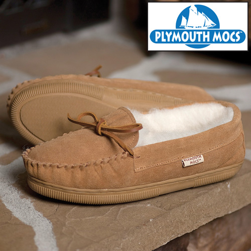 'Plymouth Mocs Mens Moccasins'