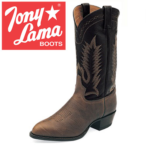 'Tony Lama Chocolate Taurus Boots'