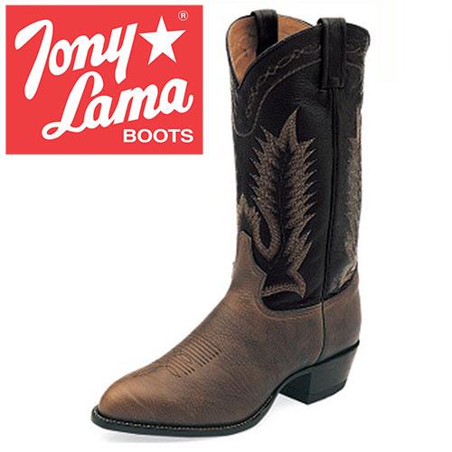 'Tony Lama Chocolate Taurus Boots'