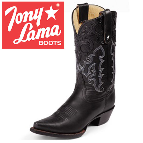 'Womens Black Thorghbred Boots'