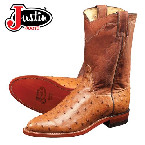 'Full Quill Ostrich Boot'