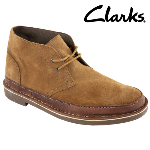 'Clarks Bush Acre Rand Chukka Style Boots'