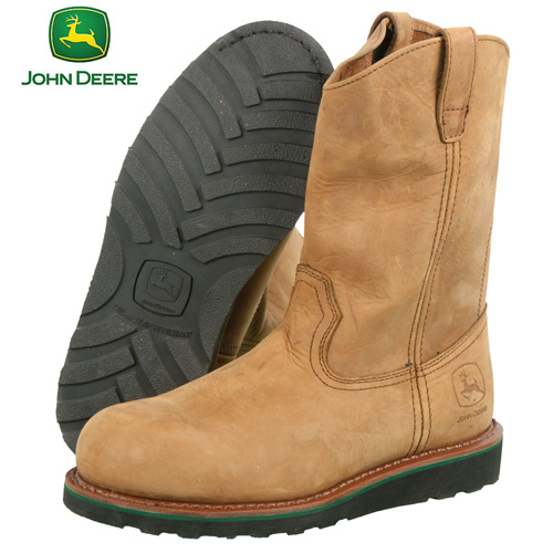 'John Deere Steel-Toe Wellington'