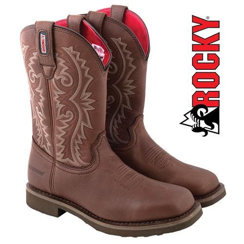 'Rocky Barntec Western Boot'