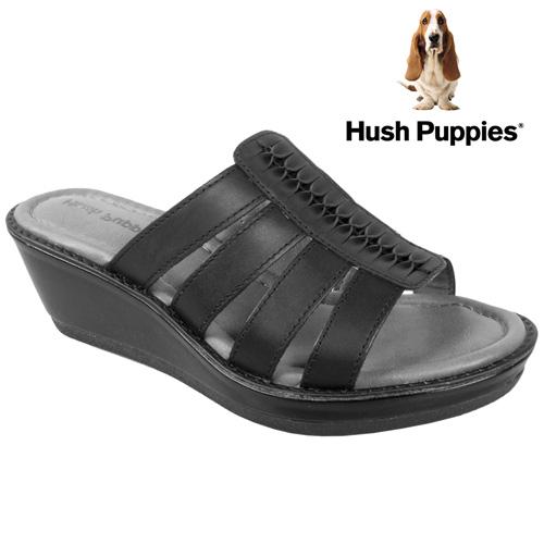 Hush Puppies Roux Sandals - Black