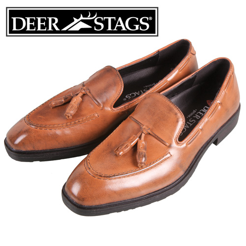'Deer Stags Classic Tassel Loafers'