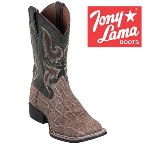 'Tony Lama Elephant Grain Boots'