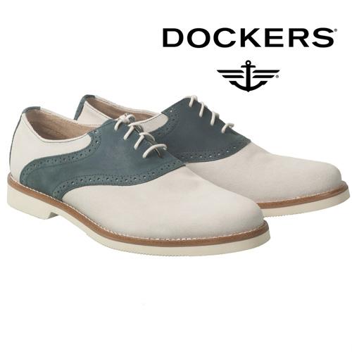 'Dockers Saddle Oxfords - Navy'