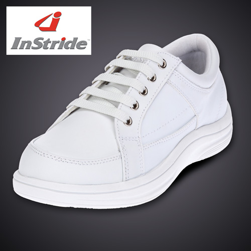 'InStride Mens Courtside Shoes - White'