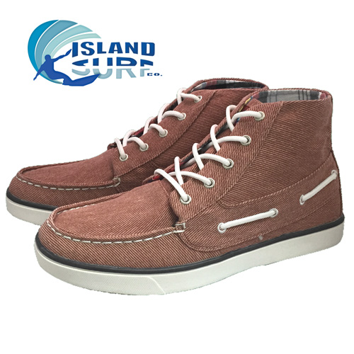 'Island Surf Canvas Hi-Tops'