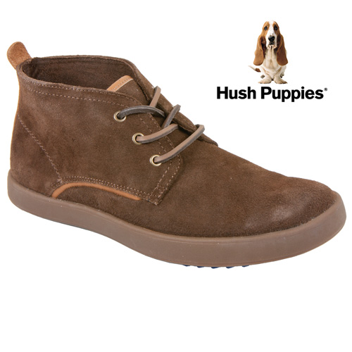 'Hush Puppies Roadside Chukkas - Brown'