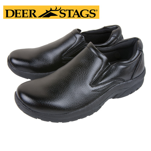 Deer Stags Jaguar Slip-Ons - Black