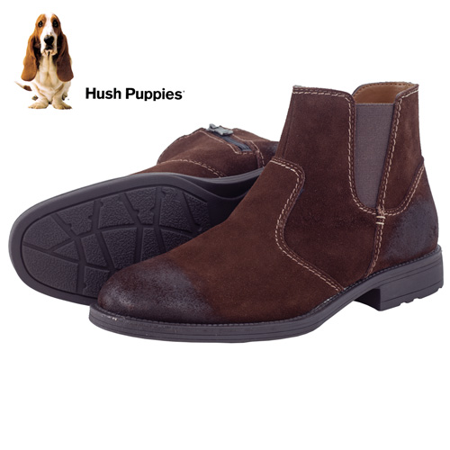 'Hush Puppies Chukka Boots - Brown'