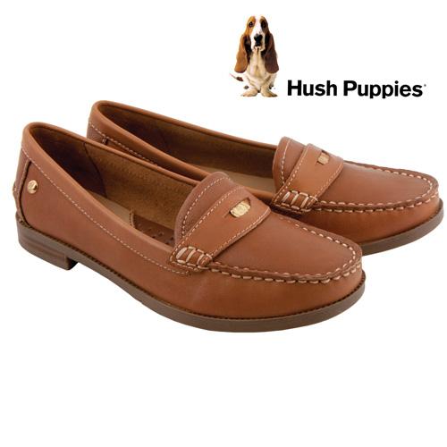 'Hush Puppies Iris Sloan Loafers - Tan'
