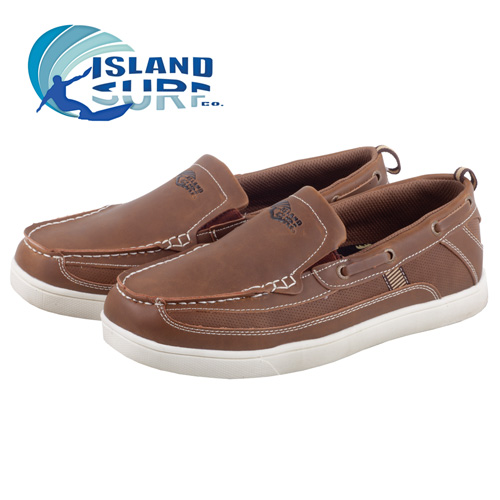 'Island Surf Pier Boat Shoes'