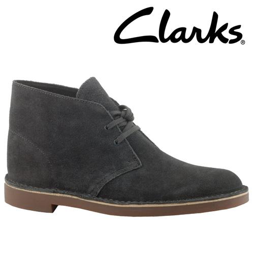 Clarks Chukka Boots - Slate Blue