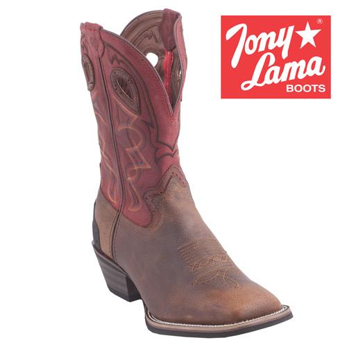 'Tony Lama Walnut Blaze Boots'