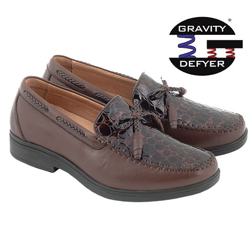 'Gravity Defyer Rasmus Loafers - Brown'