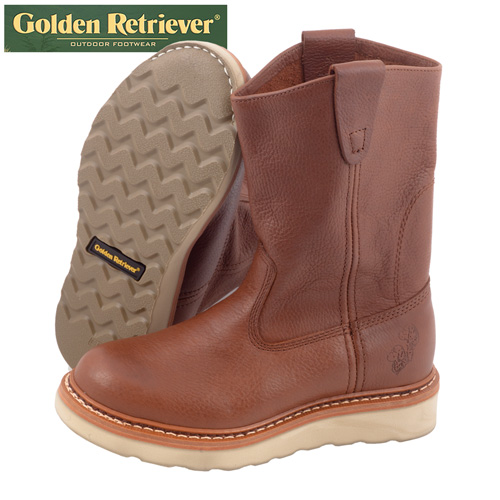 'Golden Retriever Wellingtons'