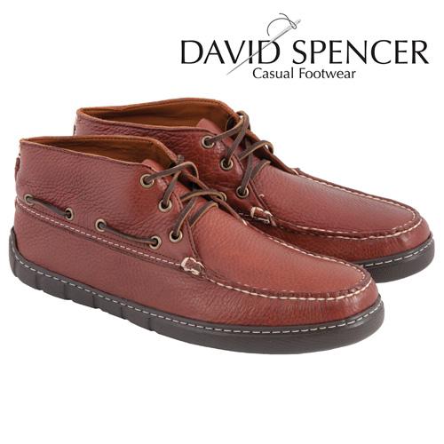 'David Spencer Sonoma Chukkas - Walnut'