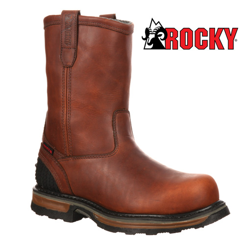 'Rocky Waterproof Work Boots'