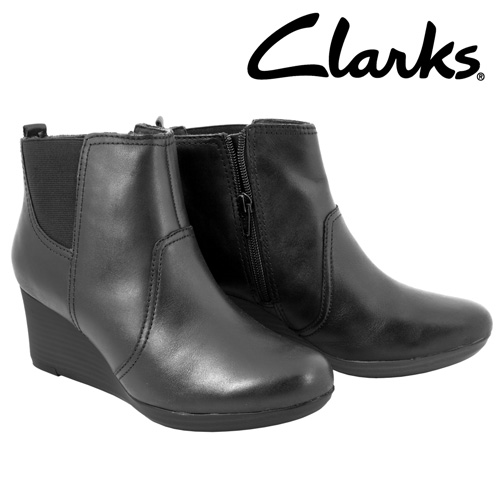 'Clarks Crystal Quartz Ankle Boots'
