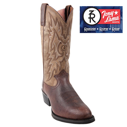 'Tony Lama Walnut Westby Boot'