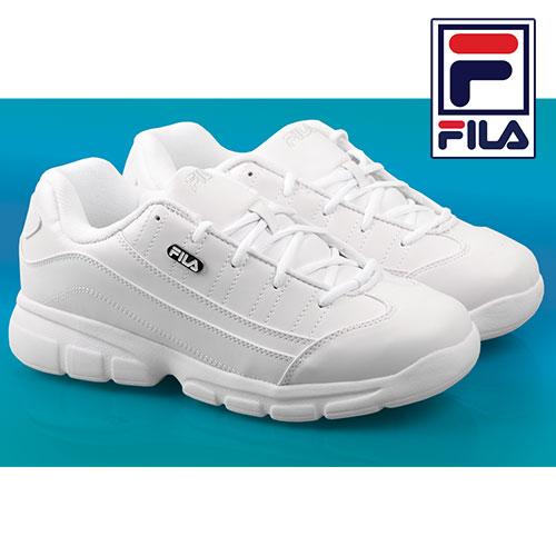 'Fila White Athletic Shoes'