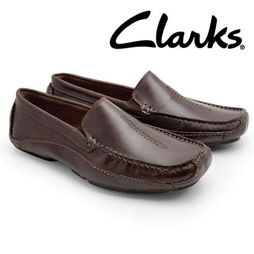 'Clarks Mansell Slip-On Shoes'