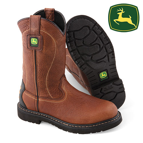 'John Deere Pull-On Boots'