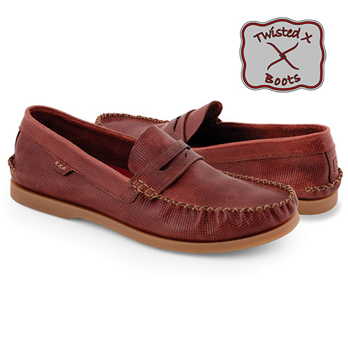 'Twisted X Penny Loafers'