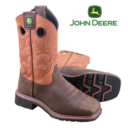 John Deere Western Boots