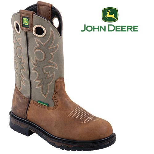 'John Deere Western Boots'