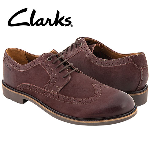 'Clarks Wahlton Wing-Tips'