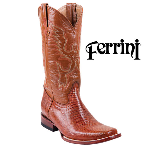 'Men's Ferrini Teju Lizard Boots'