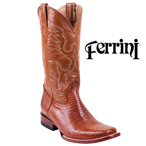 'Men's Ferrini Teju Lizard Boots'