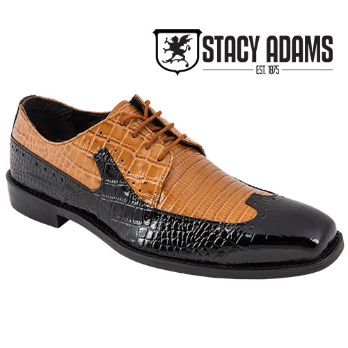 'Stacy Adams Portello Wing Tips'