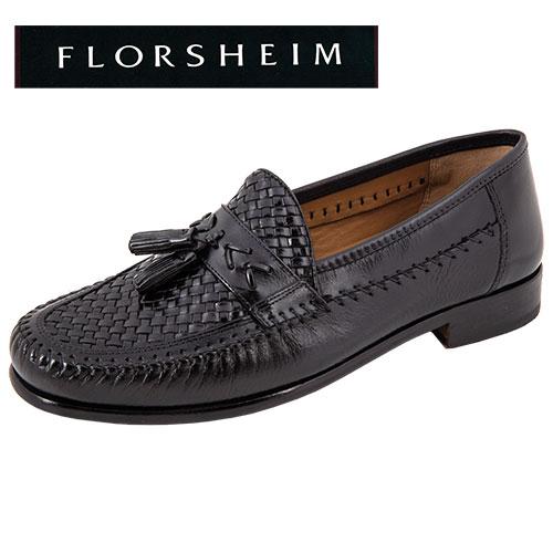 Swivel Weave Tassel Loafers