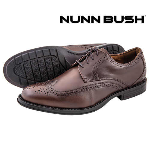 'Nunn Bush Ryan Wing Tips'